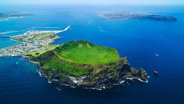 Jeji Island aerial view